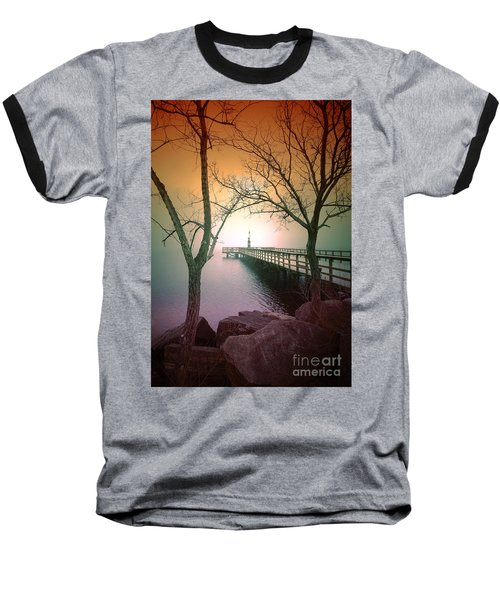 Between Two Trees Baseball T-Shirt