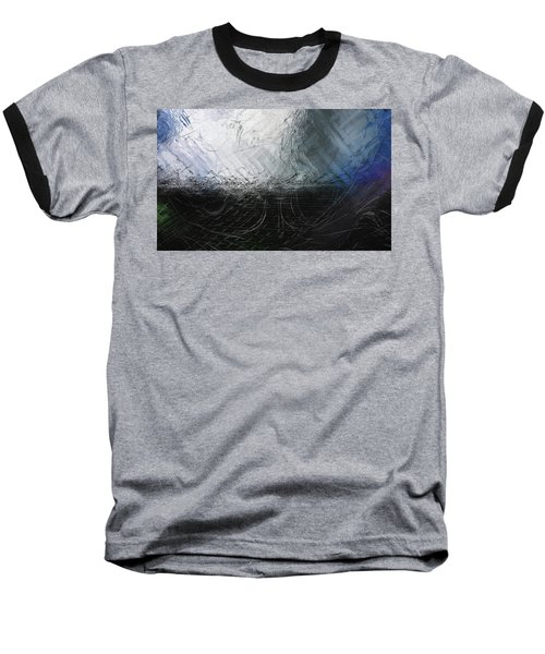 Baseball T-Shirt featuring the digital art Between Us, This Melancholy Sea by Wendy J St Christopher