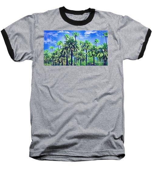Beverly Hills Palms Baseball T-Shirt