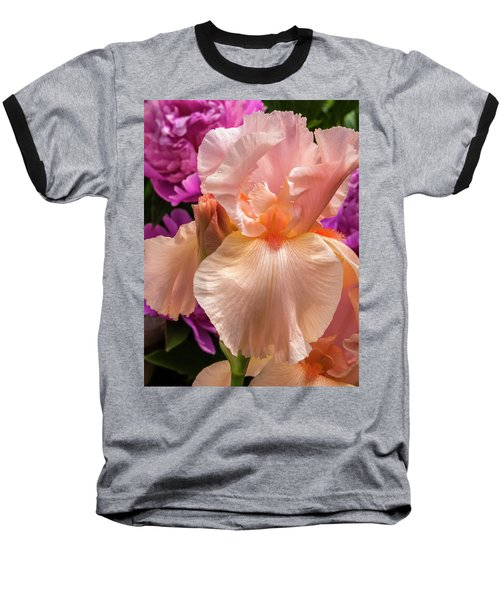 Beverly Sills Iris Baseball T-Shirt