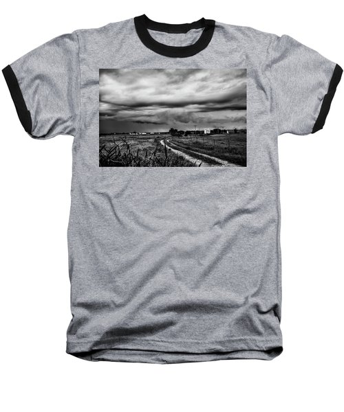 Beware The Storm Baseball T-Shirt