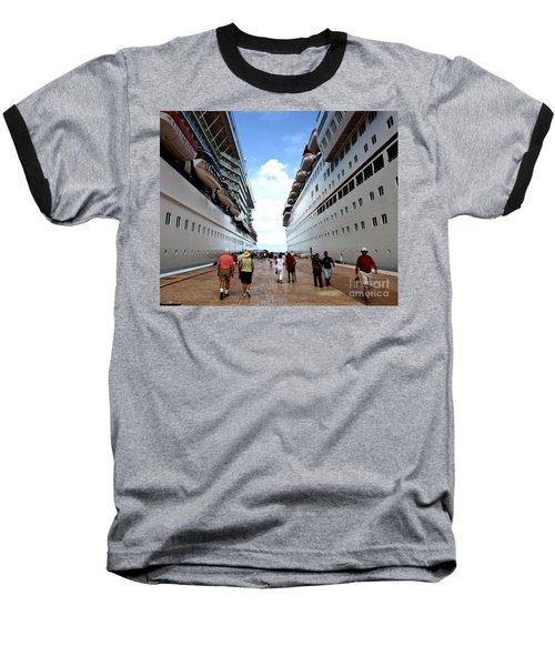 Beween Two Ships Baseball T-Shirt