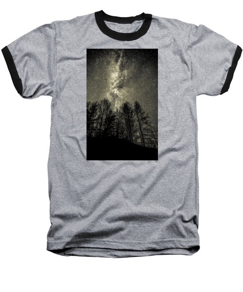 Beyond Eternity Baseball T-Shirt by Rose-Maries Pictures