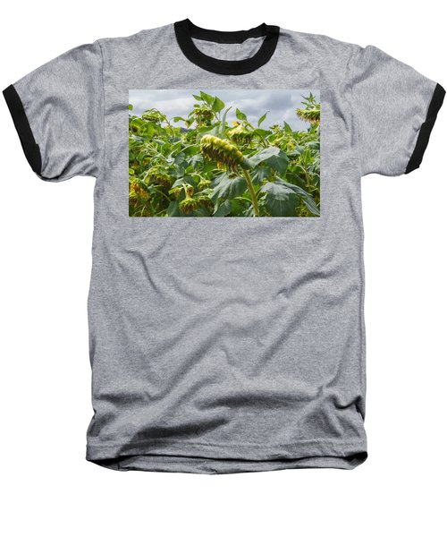 Baseball T-Shirt featuring the photograph Beyond The Bloom by Arlene Carmel