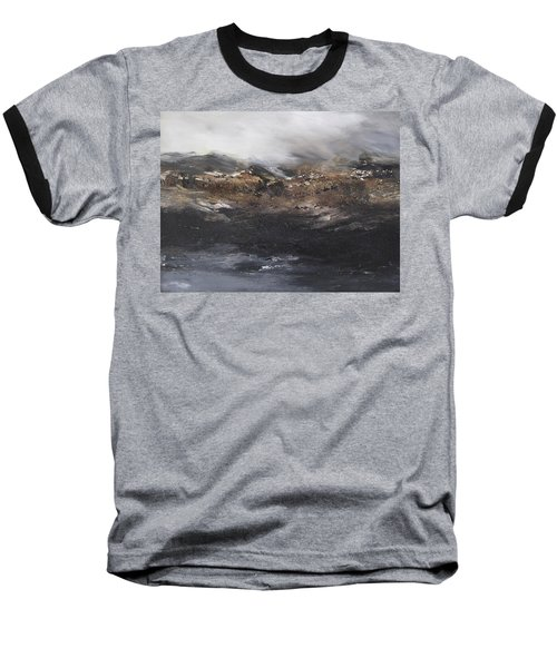 Beyond The Cliffs Baseball T-Shirt by Roberta Rotunda