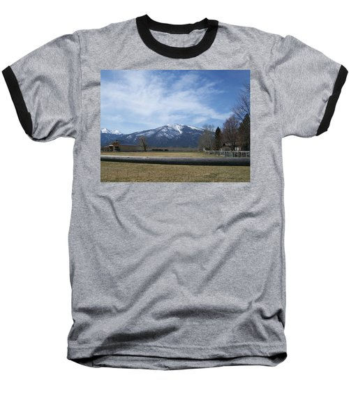 Baseball T-Shirt featuring the photograph Beyond The Field by Jewel Hengen