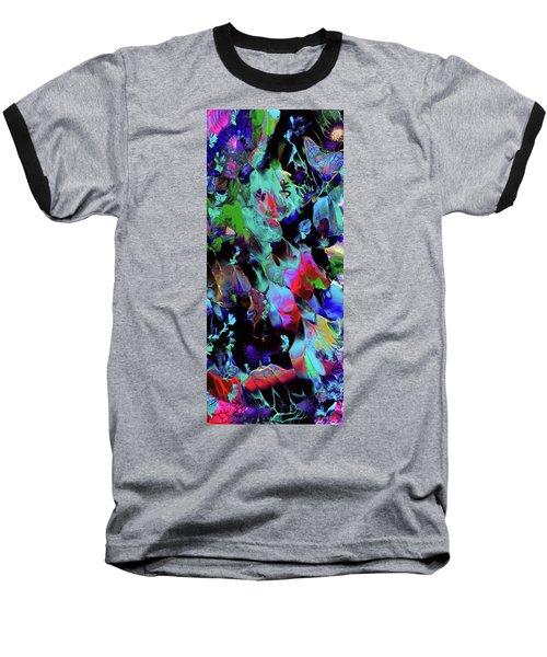 Beyond The Webbed Galaxy Baseball T-Shirt