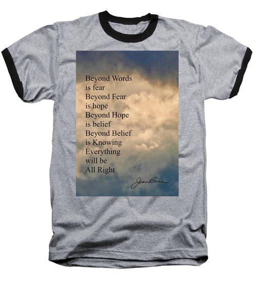 Beyond Words Baseball T-Shirt