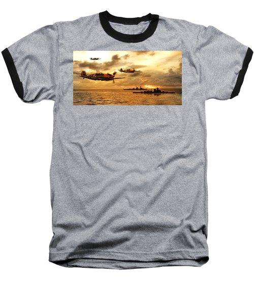 Bf 109 German Ww2 Baseball T-Shirt