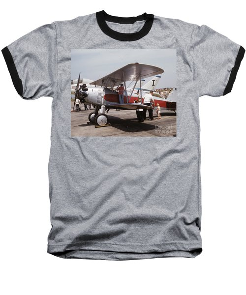 Bi-wing-3 Baseball T-Shirt