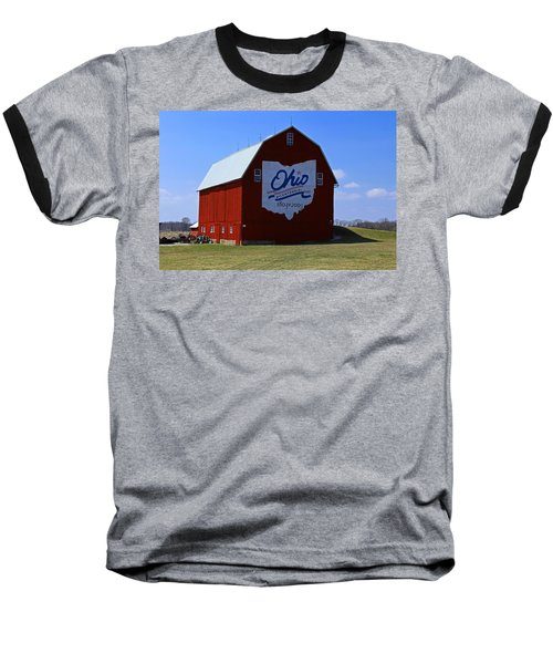 Bicentennial Barn  Baseball T-Shirt