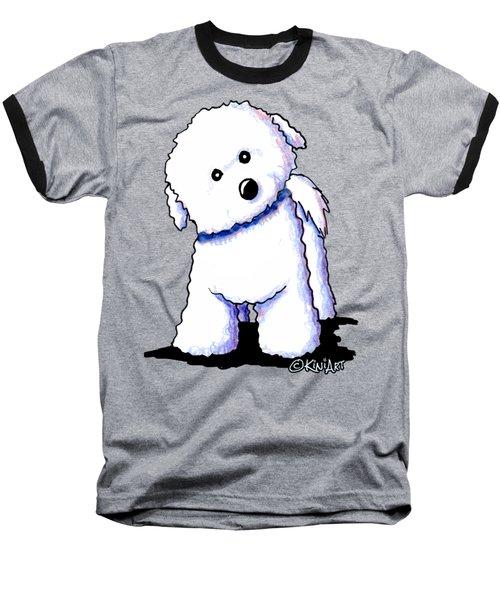 Bichon Boy Baseball T-Shirt