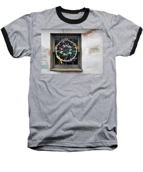 Bicycle Art Baseball T-Shirt