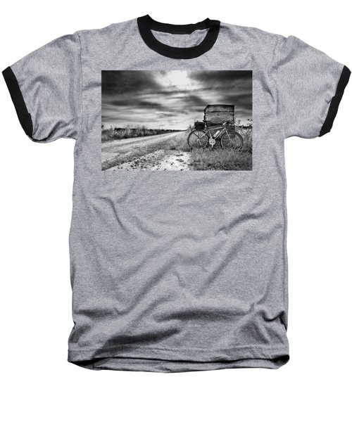 Bicycle Break Baseball T-Shirt