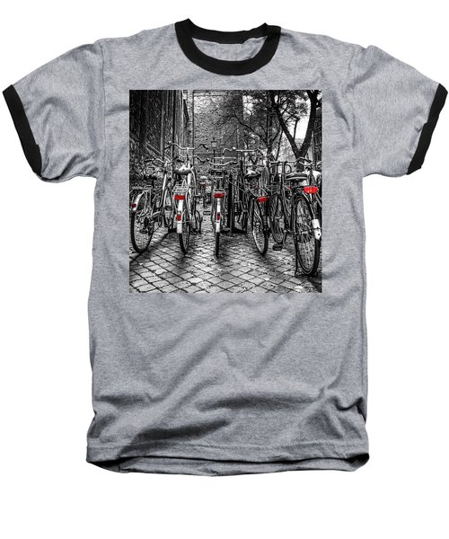 Bicycle Park Baseball T-Shirt