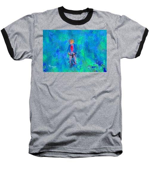 Bicycle Rider Baseball T-Shirt