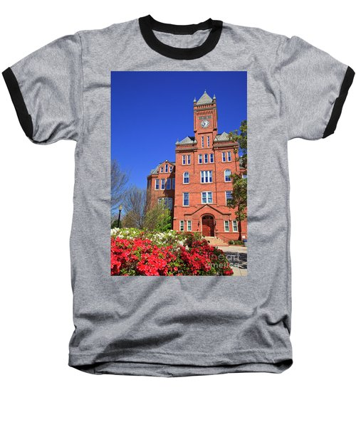 Biddle Hall In The Spring Baseball T-Shirt