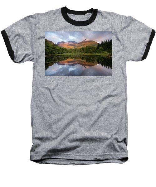 Bidean Nam Bian At Sunset Baseball T-Shirt