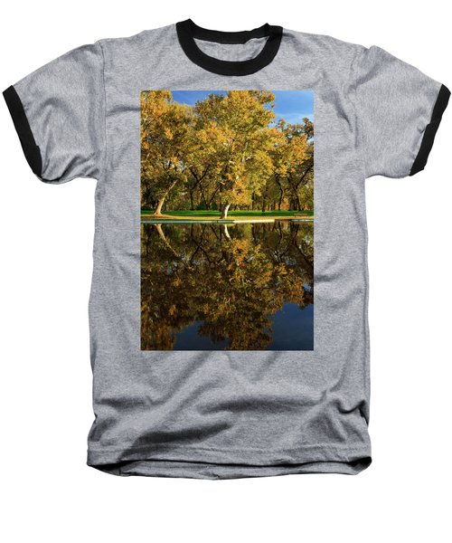 Bidwell Park Reflections Baseball T-Shirt