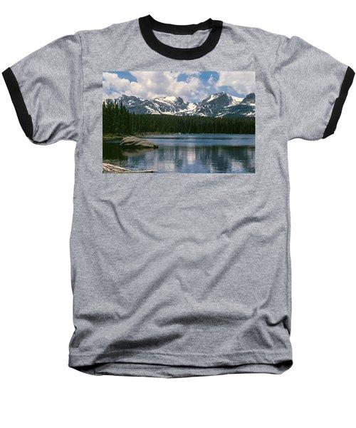 Bierstadt Lake Hallett And Otis Peaks Rocky  Mountain National Park Baseball T-Shirt