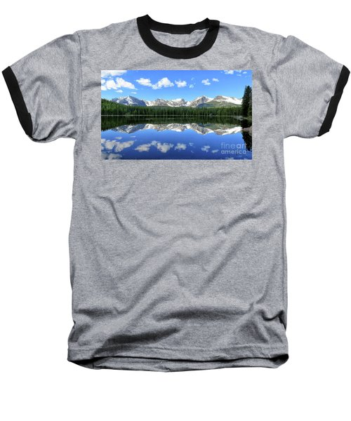 Bierstadt Lake In Rocky Mountain National Park Baseball T-Shirt by Ronda Kimbrow