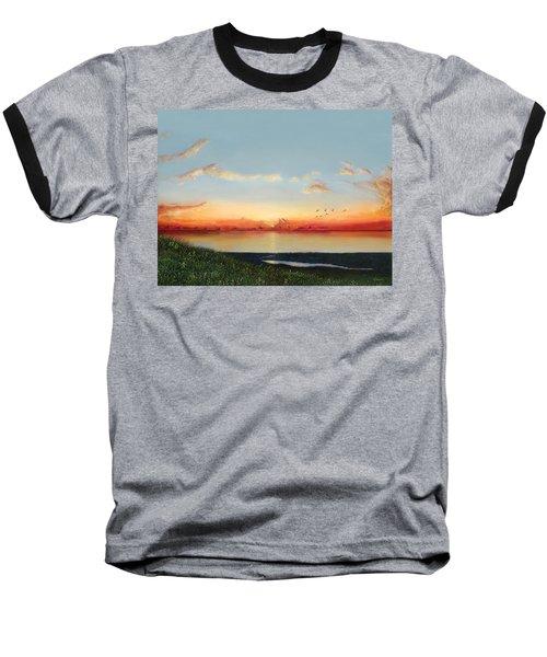 Big Assawoman Bay Baseball T-Shirt
