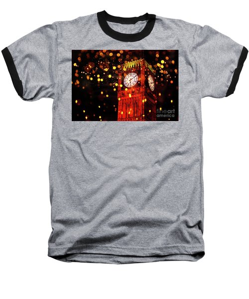 Big Ben Aglow Baseball T-Shirt