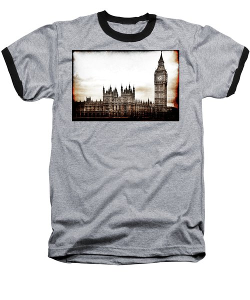 Big Bend And The Palace Of Westminster Baseball T-Shirt