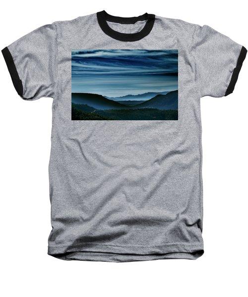 Big Bend At Dusk Baseball T-Shirt