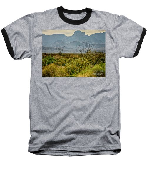 Big Bend Mountains Baseball T-Shirt
