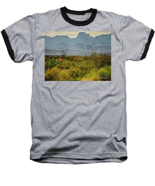Big Bend Mountains Baseball T-Shirt