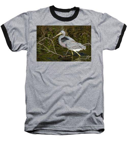 Big Bird Little Stick Baseball T-Shirt