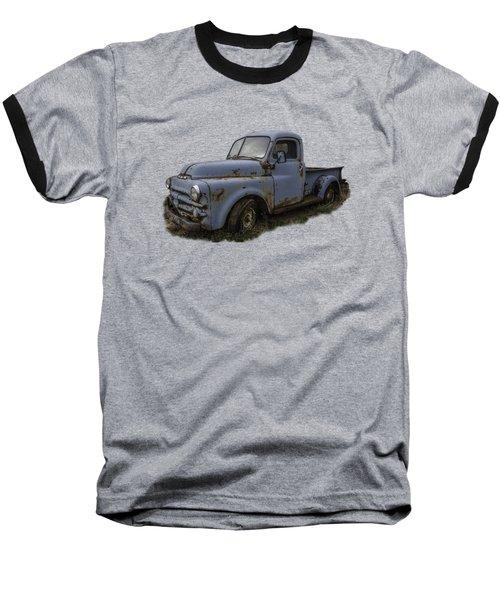 Big Blue Dodge Alone Baseball T-Shirt