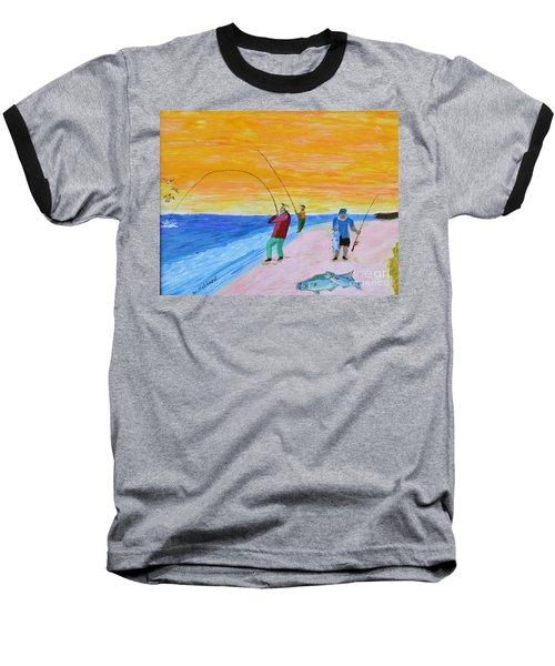 Big Blues At Herring Cove Baseball T-Shirt