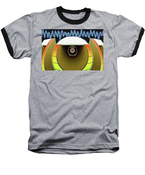 Baseball T-Shirt featuring the digital art Big Boom Box by Wendy J St Christopher