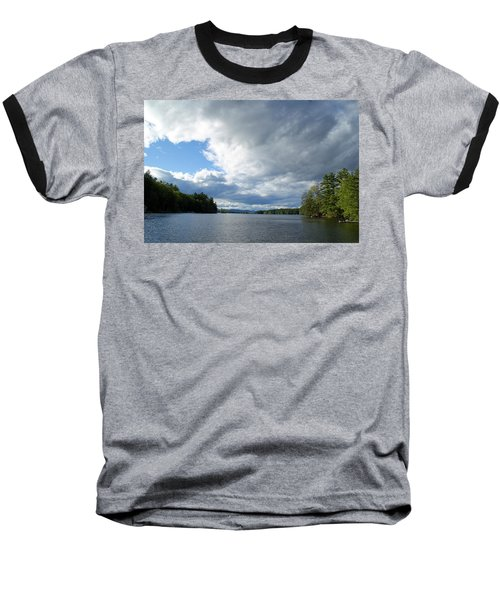 Baseball T-Shirt featuring the photograph Big Brooding Sky by Lynda Lehmann