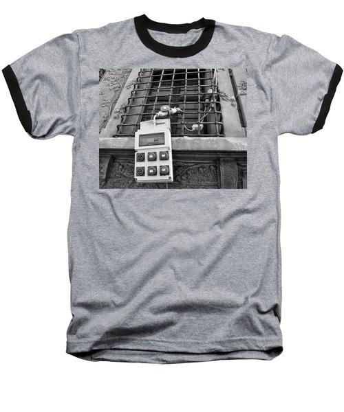 Big Buttons Baseball T-Shirt