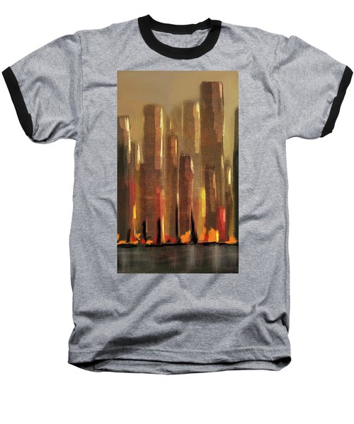 Big City Sunset Baseball T-Shirt