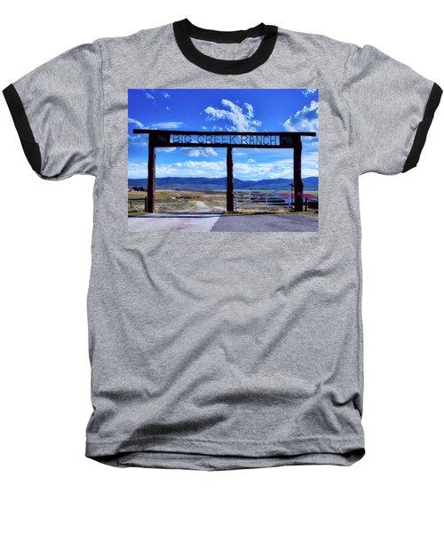 Big Creek Ranch Baseball T-Shirt by L O C