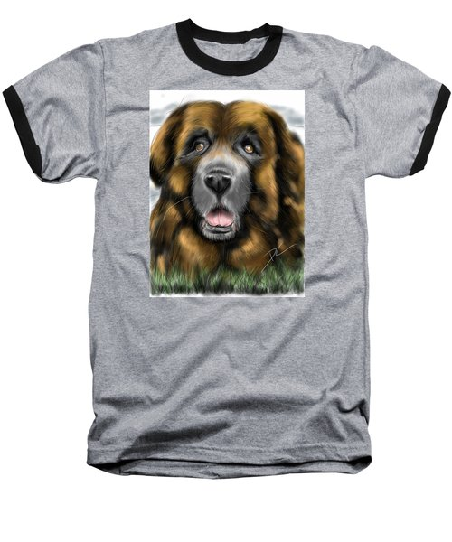 Big Dog Baseball T-Shirt by Darren Cannell