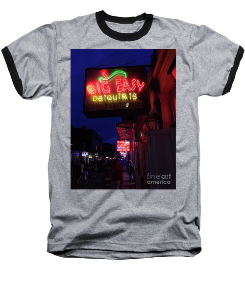 Big Easy Sign Baseball T-Shirt