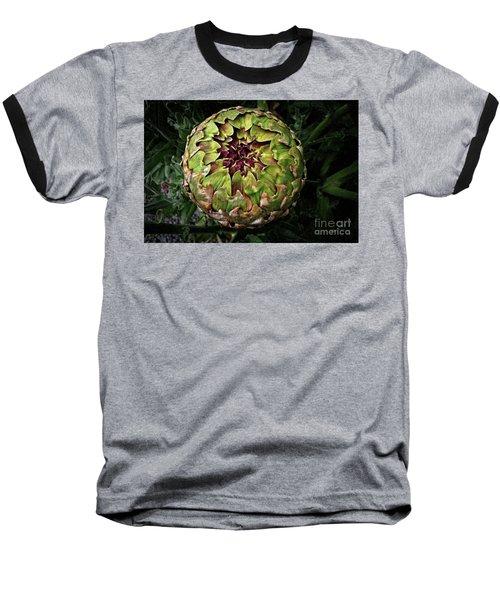 Big Fat Green Artichoke Baseball T-Shirt