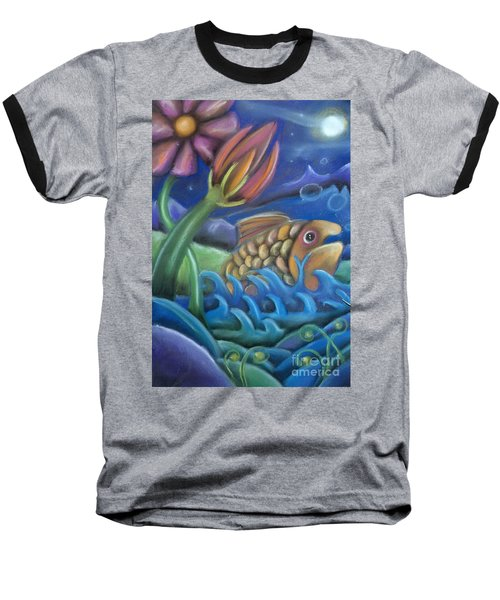 Big Fish Baseball T-Shirt