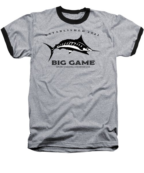 Big Game Fish Baseball T-Shirt
