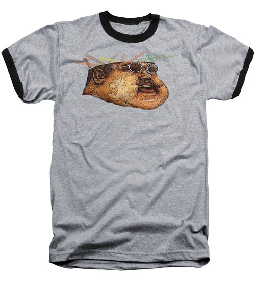 Big Guy Baseball T-Shirt by David and Lynn Keller