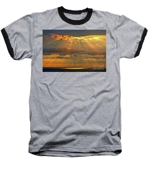 Baseball T-Shirt featuring the photograph Big Island Rays by DJ Florek