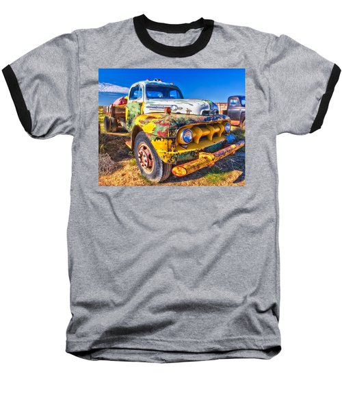 Big Job - Wide Baseball T-Shirt