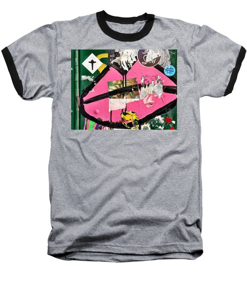 Big Kiss Baseball T-Shirt