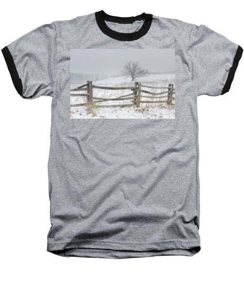 Big Oak Tree Baseball T-Shirt
