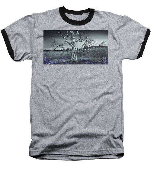 Big Old Tree Baseball T-Shirt by Kenneth Clarke